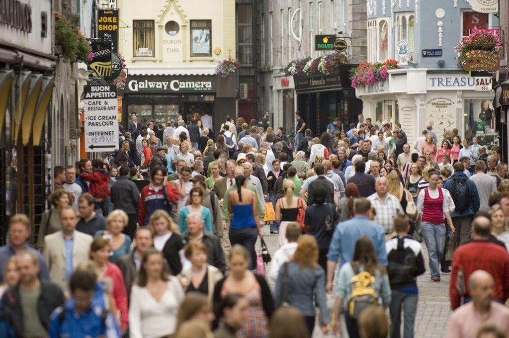 Galway Hen Party Shop street
