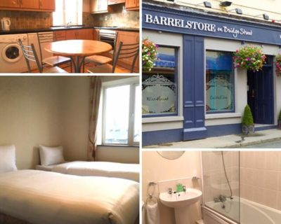 Carrick on Shannon Hen Party Barrelstore Apartments Collage TheHen.ie