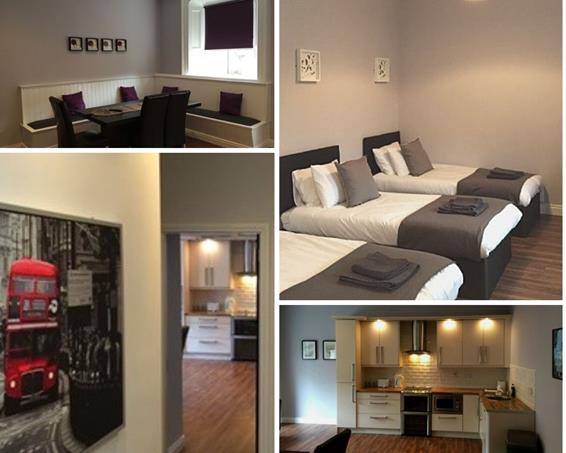 Carrick on Shannon Hen Party Main Street Apartments Collage TheHen.ie