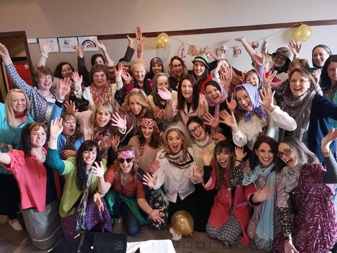 Mrs Doyle and her grannies hen party activity athlone TheHen.ie
