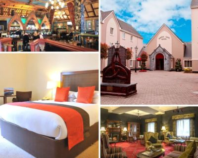 Selection of photos Templegate hotel Ennis Hen Party package