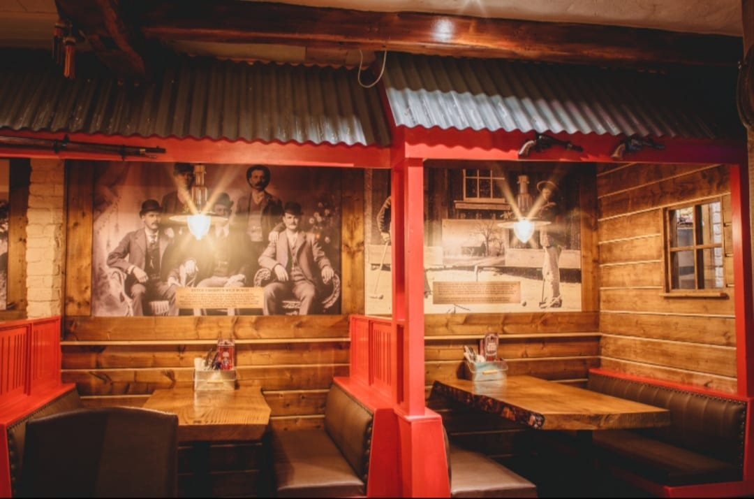 Pictures of Wild West themed restaurant athlone