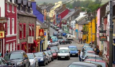 Photo of the Main Street in Dingle