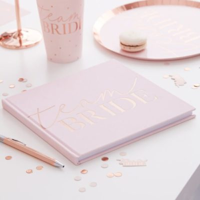 blush-pink-velvet-henbook-hen-party-guestbook www.thehenplanner.ie