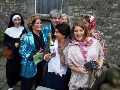 Finding Ted Hen party activity Galway TheHen.ie