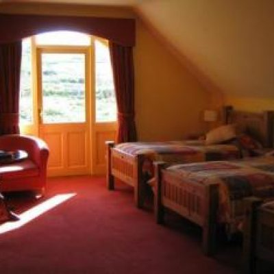 Ballyvara House Doolin, bedroom2, Hen Party Weekend, self catering house, packages, ideas TheHen.ie