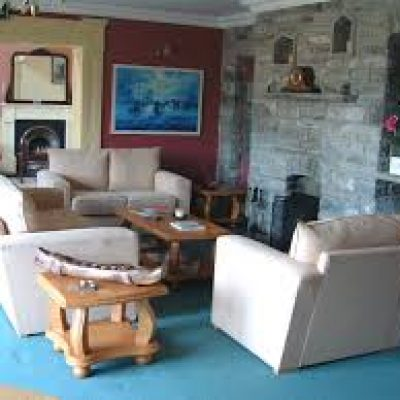 Ballyvara House Doolin, living room, Hen Party Weekend, self catering house, packages, ideas TheHen.ie
