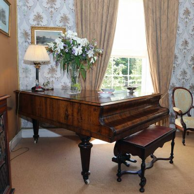 a Piano in Blanchville House Self Catering Kilkenny
