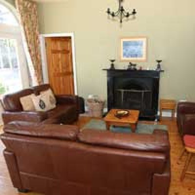 the sitting room in Blanchville self catering house for a hen party in kilkenny