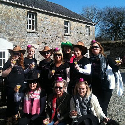 Hens on a Farm Carrick on Shannon Hen Party Activity Belles and Blazers