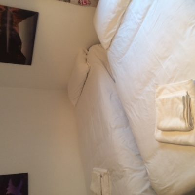 2 Single beds in Ivy House Hen Party House