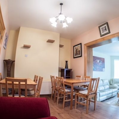 Dining Room with tables and chairs in Self Catering House