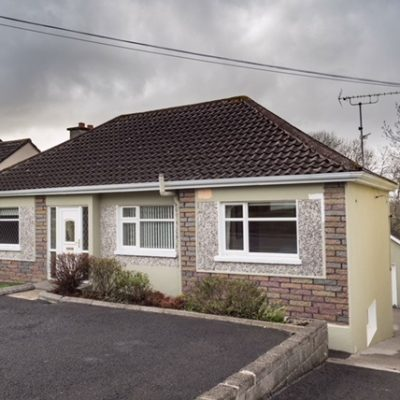Front of Self Catering House in Carrick on Shannon