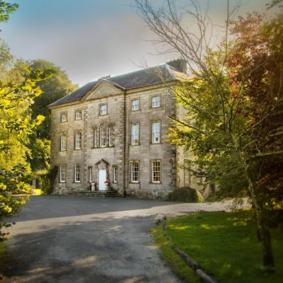 Roundwood House Laois Self Catering House Front Exterior 2 TheHen.ie