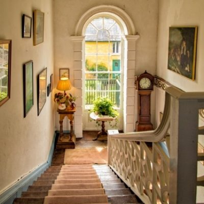 Roundwood House Laois Self Catering House Stairs TheHen.ie