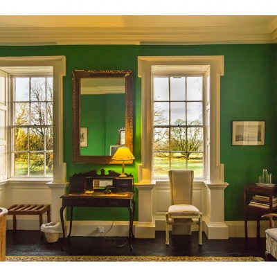 Roundwood House Laois Self Catering House The Green Room TheHen.ie