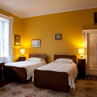 Roundwood House Laois Self Catering House bedroom 2 TheHen.ie