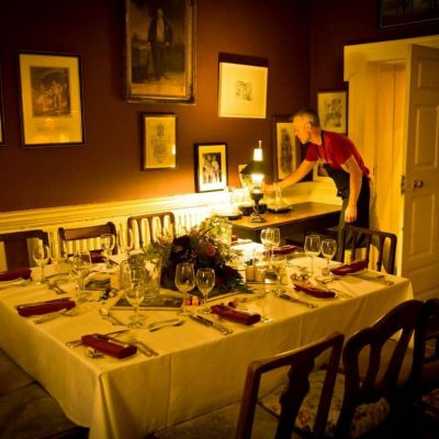 Roundwood House Laois Self Catering House dining TheHen.ie