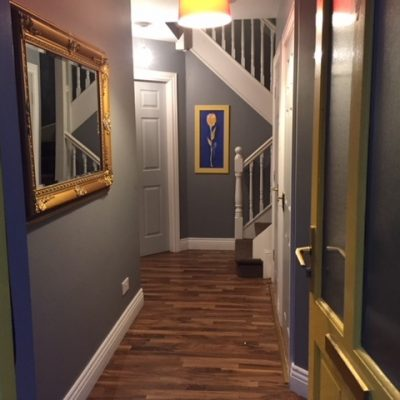 Hallway entrance to Self Catering House Carrick on Shannon