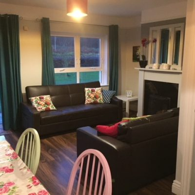 Sitting Area in Self Catering House Carrick on Shannon