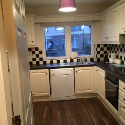 Kitchen in Self Catering House Carrick on Shannon