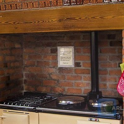 Large aga style cooker in Tranquility House