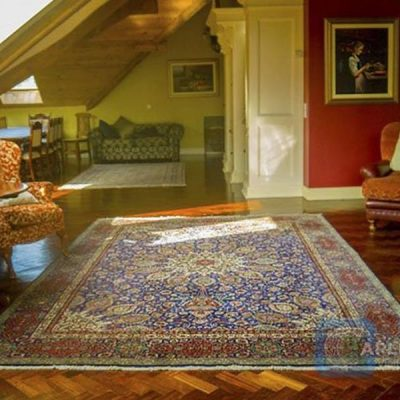 large floor rug in Tranquility House