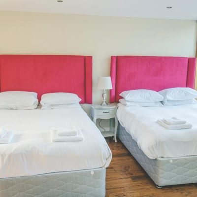 2 Beds set for guests at Tranquility Villa