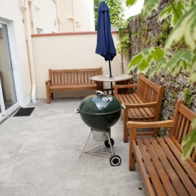 Outside BBQ Area in Self Catering House Hen Party