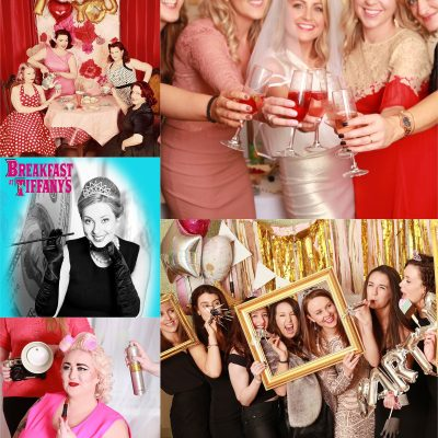 Themed Photoshoot Hen Party Activity retro